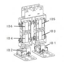 Aluminum Servo Round Horn Set Spline 25T (FK-RP-001)
