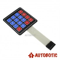 4x4 Matrix 16 Key Membrane Switch Keypad for Arduino