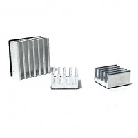 Aluminium Heatsink for Raspberry Pi - 3pcs per Pack