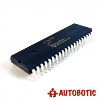 DIP-40 Integrated Circuit IC (PIC16F887-I/P) 8 Bit Microcontroller