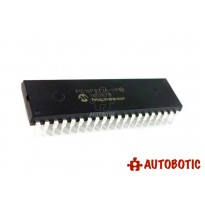 DIP-40 Integrated Circuit IC (PIC16F877A-I/P) 8 Bit Microcontroller