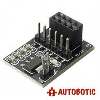 Socket Adapter plate Board for 8Pin NRF24L01 Wireless Transceive