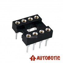 IC SOCKET 8 PIN (Round Hole)