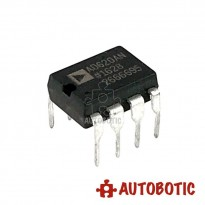 DIP-8 Integrated Circuit IC (AD620AN) 8-bit Instrumentation Amplifier Microcontroller