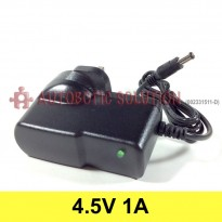 Plug Type G (UK Type) Converter Adapter, Input (AC 100V-240V), Output (DC 4.5V, 1A)