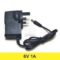 AC to DC Power Adapter 6V 1A (UK Plug)