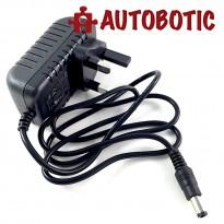 Plug Type G (UK Type) Converter Adapter, Input (AC 100V-240V), Output (DC 6V, 1A)