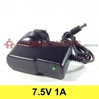 Plug Type G (UK Type) Converter Adapter, Input (AC 100V-240V), Output (DC 7.5V, 1A)
