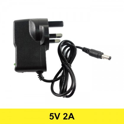 AC to DC Power Adapter 5V 2A (UK Plug)