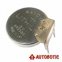 RAYOVAC BR2335 3V Coin Cell (3 Leg)