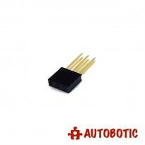 Dual Row 3 Pin Stackable Header