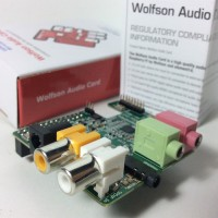Wolfson Audio Card, use with Raspberry Pi