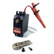 15kg.cm DS3218 Standard Servo, Control Angle 180 degree+25T Servo Arm