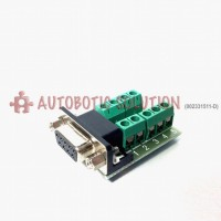 RS232 to Terminal DB9 Female Adapter Connector Signal Terminal Module