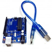 Arduino UNO R3 Compatible Board (16U2) + 1 USB Cable (Made in CHINA)