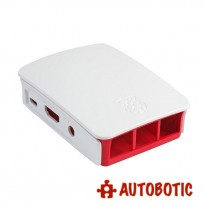 Raspberry Pi 3 Model B / B+ Official Casing (Made in UK) Red/White