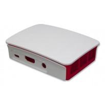 Raspberry Pi 3 Model B / B+ Official Casing (Made in UK) Red/White