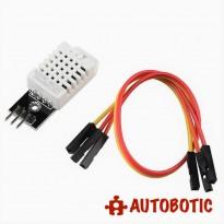 DHT22 Digital Temperature & Humidity Sensor Module + Cables