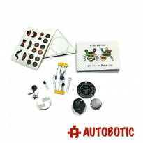 4-Soldering Light Chaser Robot Kit