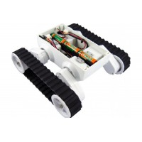 Rover 5 Tank Chassis (4 motors with 4 Encoders)