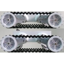 Rover 5 Tank Chassis (4 motors with 4 Encoders) *PRE-ORDER*