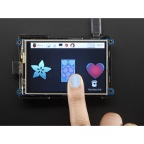 PiTFT Plus 480x320 3.5 TFT+Touchscreen for Raspberry Pi - Pi 2 and Model A+ / B+