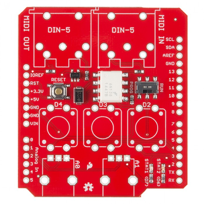 SparkFun Electronics View topic - USB host shield MIDI
