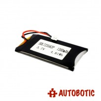 LiPo Rechargeable Battery 3.7V 1300mAH