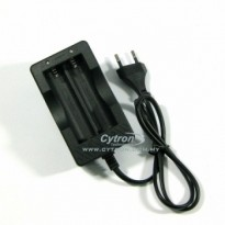 Dual 18650 Li-Ion Battery Charger