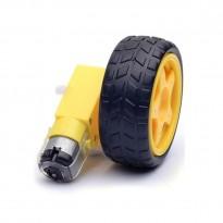 Mini Motor + Wheel Kit