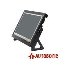 Acrylic Stand For Raspberry Pi 7 inch Touchscreen LCD (Black)
