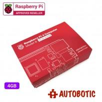 Raspberry Pi 4 Bundle (4GBRAM/32GB NOOBS/Red)