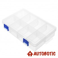 Single Layer Plastic Storage Tool Box (8 Grid)