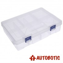 Double Layer Plastic Storage Tool Box (8 Grid)