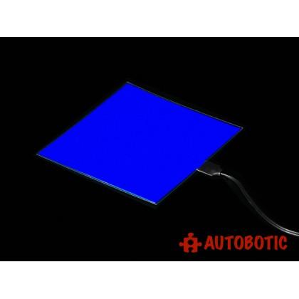 Electroluminescent (EL) Panel - 10cm x 10cm Blue [PROMO PRICE]