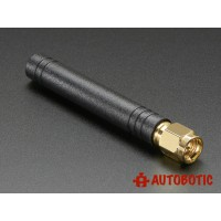 Mini GSM/Cellular Quad-Band Antenna - 2dBi SMA Plug