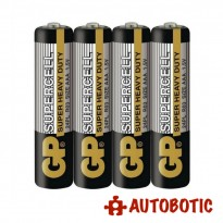 GP 4 AAA Supercell Battery