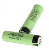 Panasonic Battery NCR18650B 3400mAh 3.7V Li-ion Flat Top