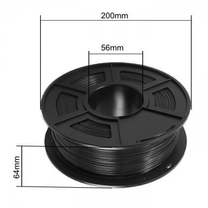 3D Printer 1.75mm PLA Filament 1KG (Black) [READY STOCK]