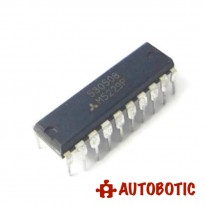 DIP-20 Integrated Circuit IC (M5229P) Hi-Fi 7-Element Graphic Equalizer IC