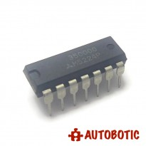 DIP-14 Integrated Circuit IC (M5224P) Quad Single Power Supply Operational Amplifiers