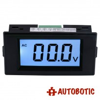 AC0-199.9V LCD Display Digital Voltmeter Panel Meter (AC220V Power Supply)