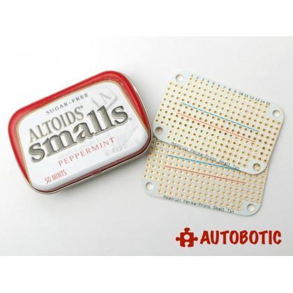 Adafruit Perma-Proto Small Mint Tin Size Breadboard PCB - 3 pack