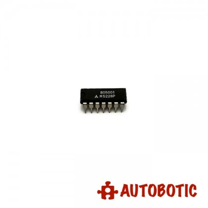 DIP-14 Integrated Circuit IC (M5228P) Quad Low Noise Operation Amplifiersdual Power Supply