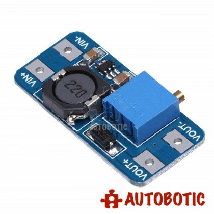 MT3608 Step-Up Adjustable DC-DC Switching Boost Converter 2A Module