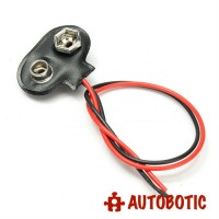 9V Battery T-Type Snap Clip Connector Holder