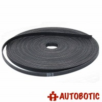 Open Ended Timing Belt GT2-6mm Width for 3D Printer and CNC (1 Meter)
