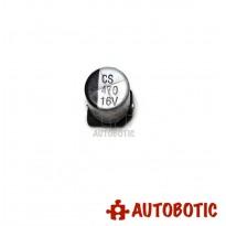 SMD CS 470 Aluminum Electrolytic Capacitor 16V 470uF