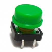 B3F-4055 Tactile Switch With KeyCap (Green)