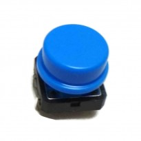 B3F-4055 Tactile Switch With KeyCap (Blue)
